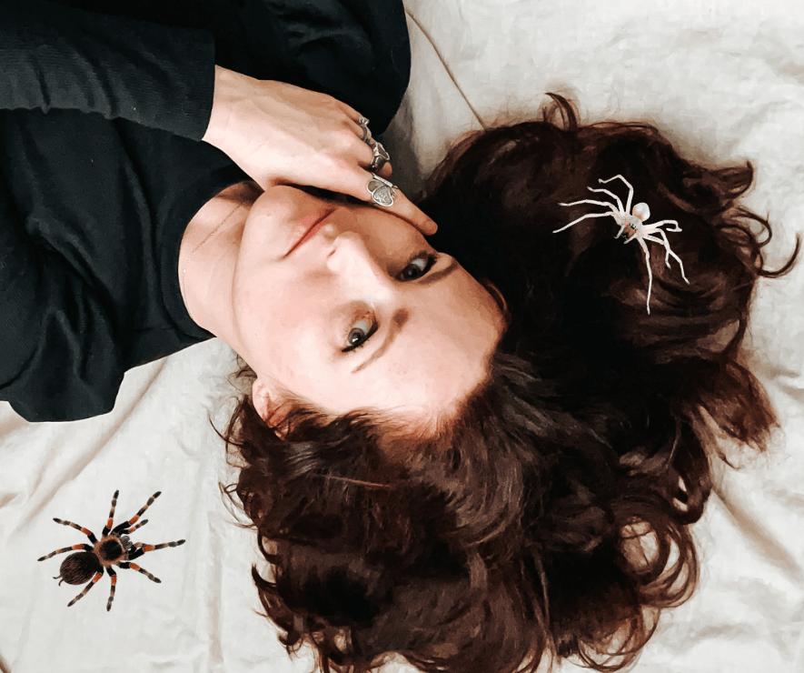 Spirit of a Weaving Spider