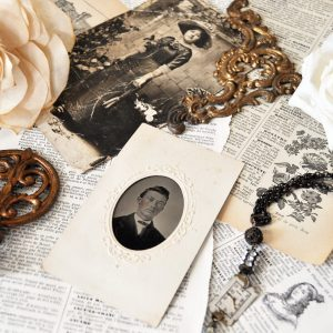 Vintage Old Letters and Photos